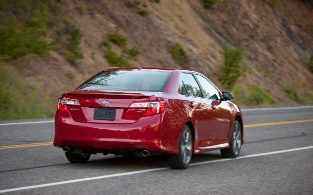 2012 Toyota Camry Rear Three Quarter