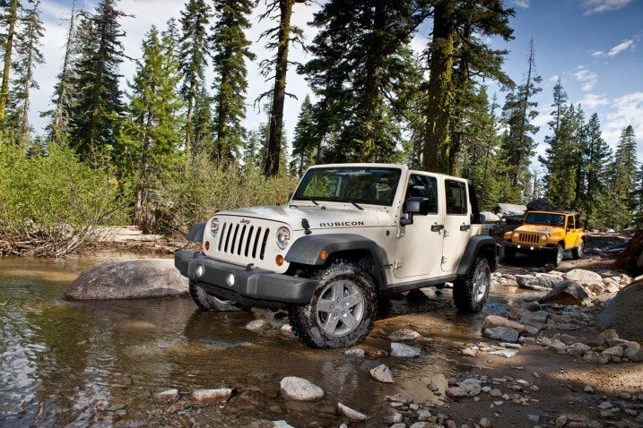 2012 Jeep Wrangler Group