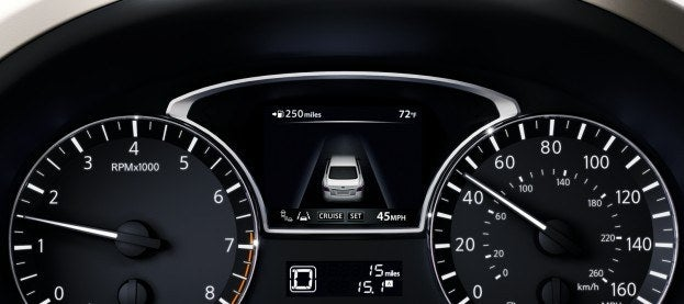 2013 Altima Sedan Gauges