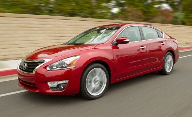 2013 Altima Sedan Speed