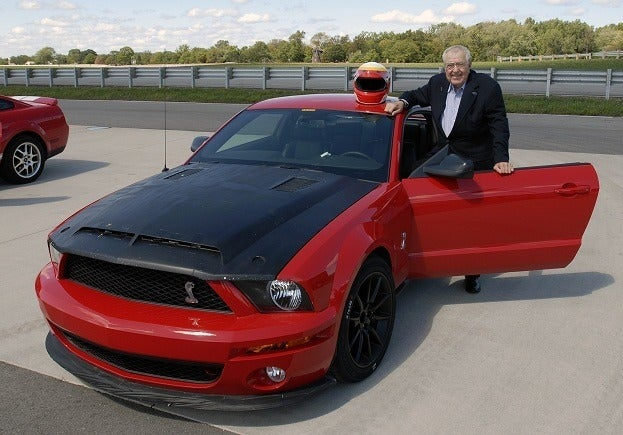 Automotive Legend Carroll Shelby Visited Ford World Headquarters