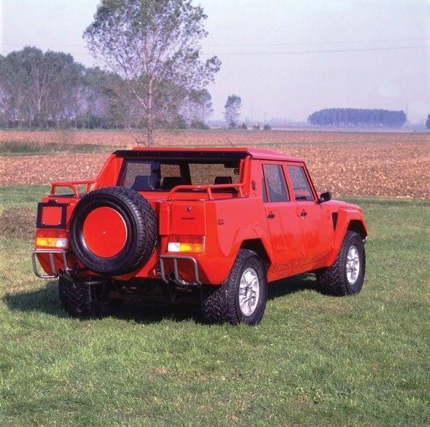 Lamborghini LM002 rear