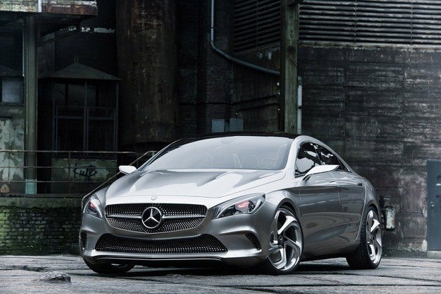 Mercedes Benz Coupe Concept