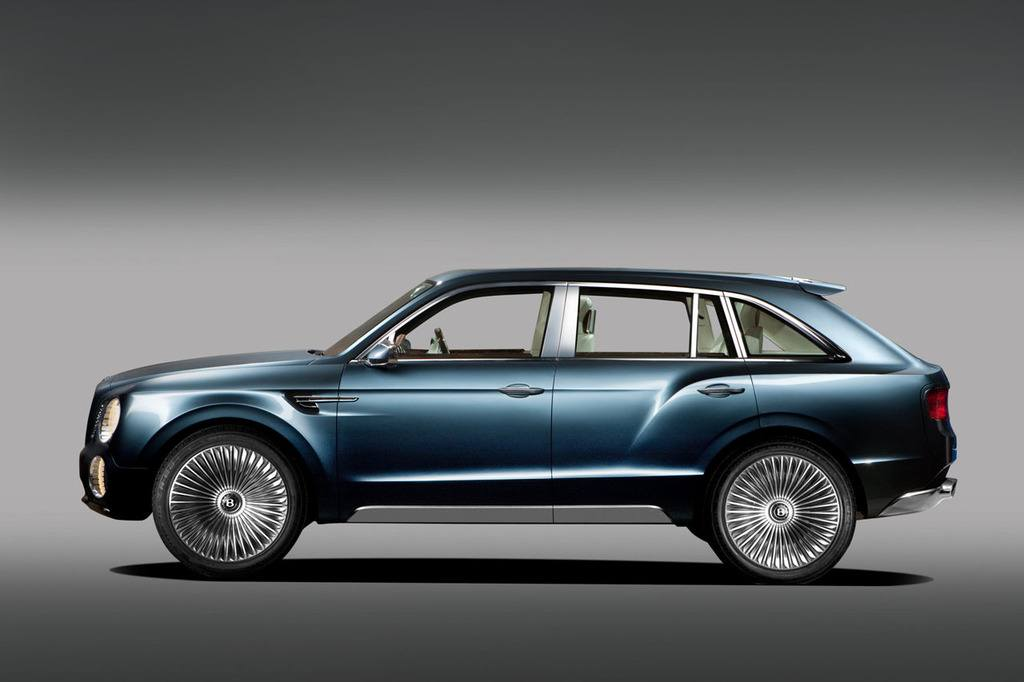 Bentley EXP 9 F SUV side