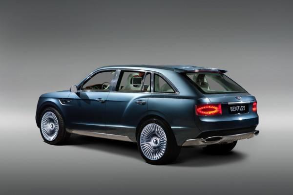 Bentley EXP 9 F SUV rear