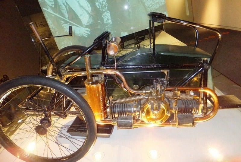 1896 Wolseley Tri Car