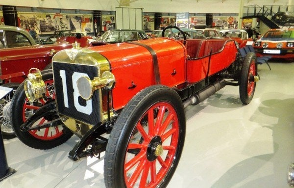 1908 Austin Grand Prix race car
