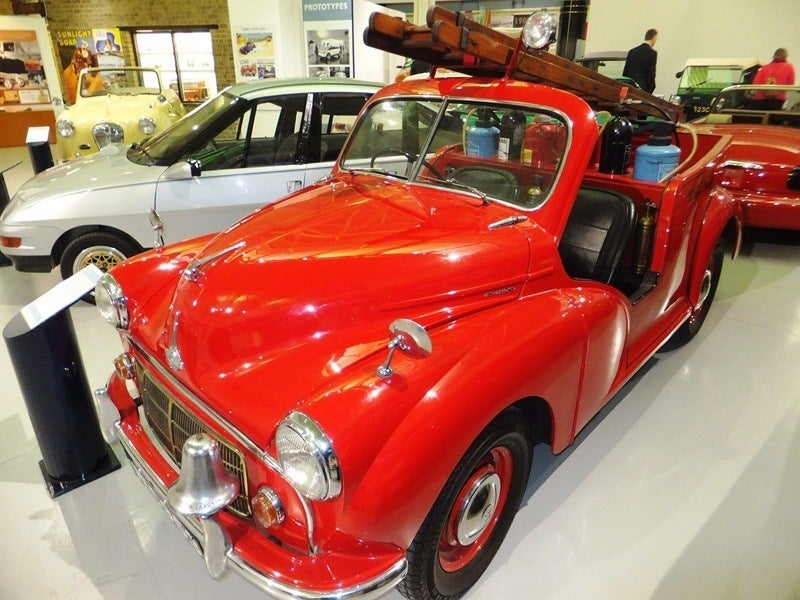 1953 Morris fire engine