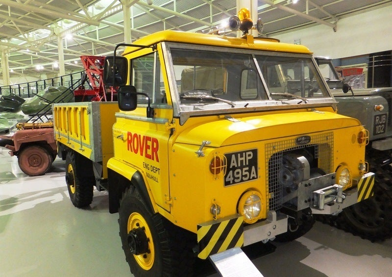 1962 Land Rover 112 Buttercup