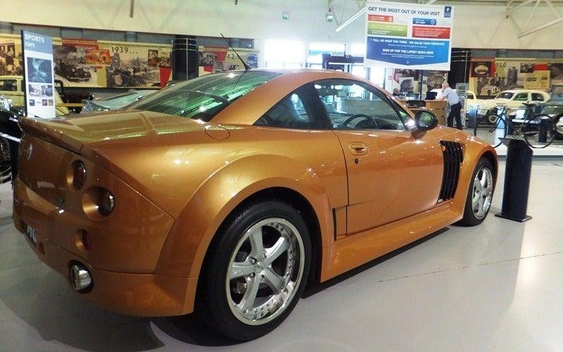 2004 MG SV rear