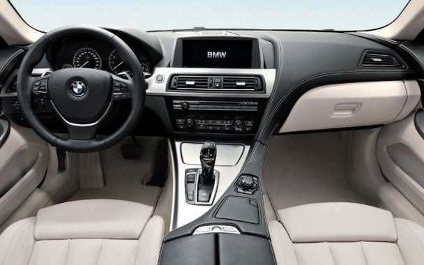 2012 BMW 650i Coupe interior