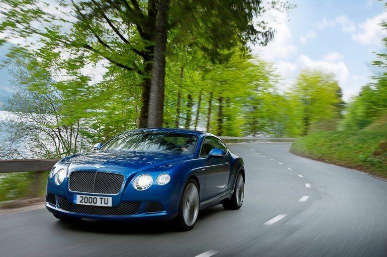 2013 Bentley Continental GT Speed 12