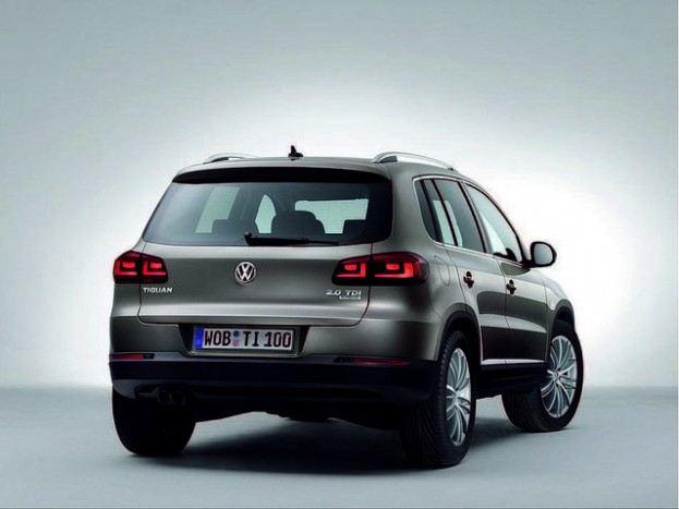 2012 Volkswagen Tiguan rear