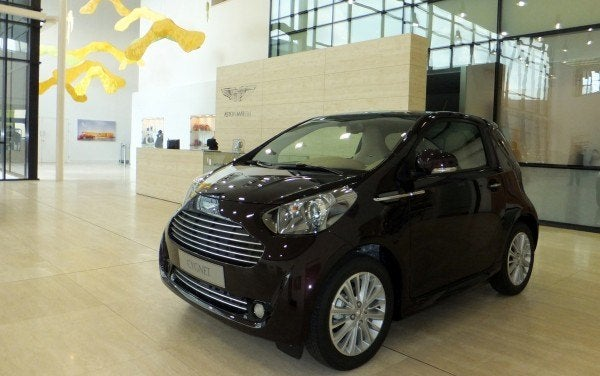 Aston Martin Factory Cygnet 600x376 A Private Tour of the Aston Martin Factory   Tea & Biscuits