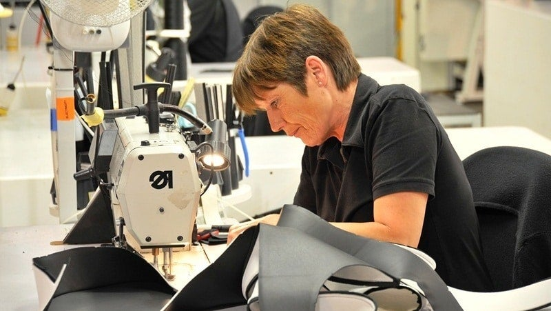 Aston Martin Factory Seamstress