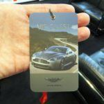 Aston Martin Factory VIP badge