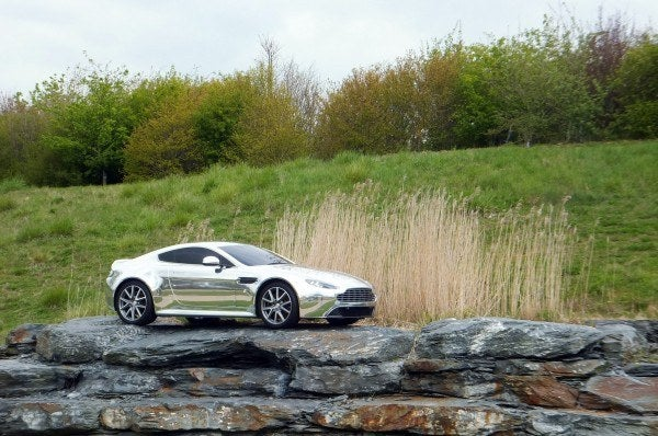 Aston Martin Factory chrome Vantage