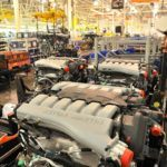 Aston Martin engines - powertrain assembly