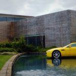 Aston Martin Factory floating Vantage
