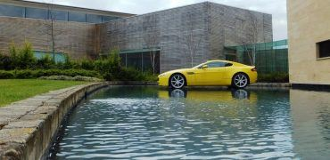 Aston Martin Factory floating V8 Vantage