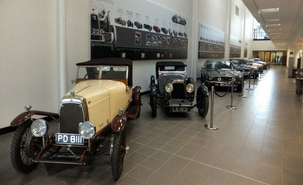 Aston Martin Factory history 8 600x367 A Private Tour of the Aston Martin Factory   Tea & Biscuits