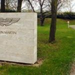 Aston Martin Factory sign