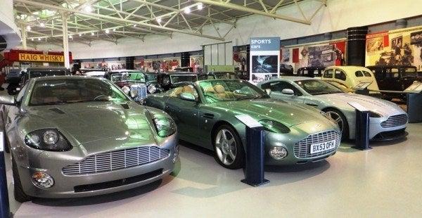 Aston Martin V12 Vanquish, DB AR1, and V12 Vantage RS Concept