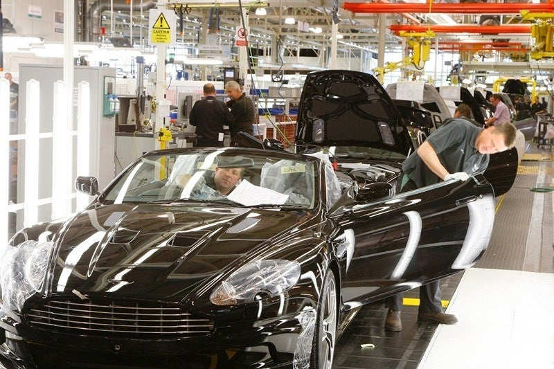 Aston Martin final quality check