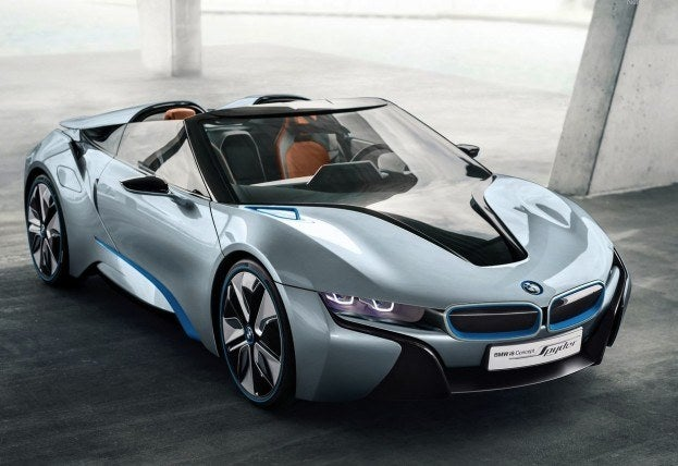 BMW i8 Spyder Concept 2013 1280x960 wallpaper 01