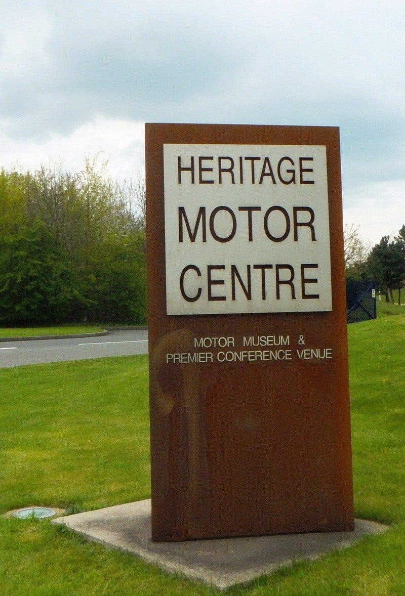 My Visit To The Heritage Motor Museum In Gaydon Uk