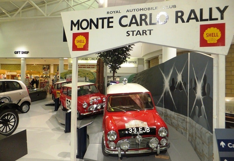 Mini Monte Carlo Rally