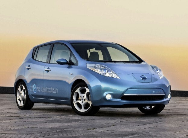 Nissan LEAF 2011 1280x960 wallpaper 01