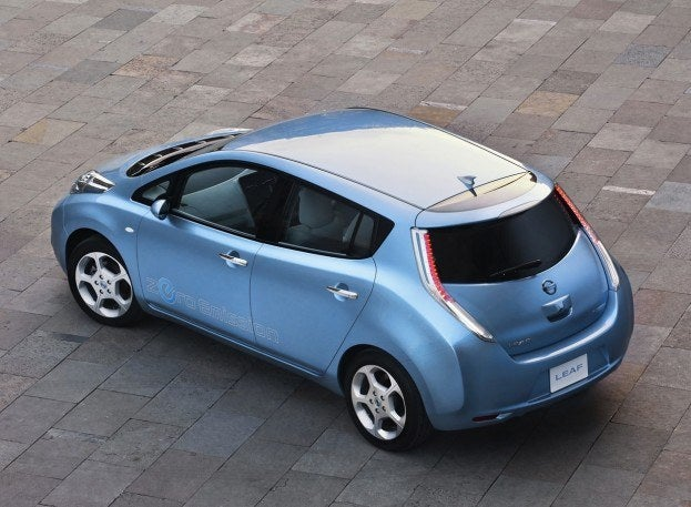 Nissan LEAF 2011 1280x960 wallpaper 1a
