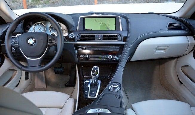 2012 BMW 650i Coupe Concept interior
