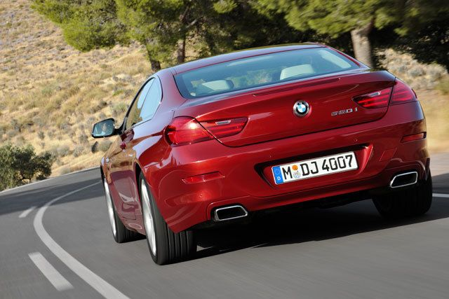 2012 BMW 650i Coupe rear