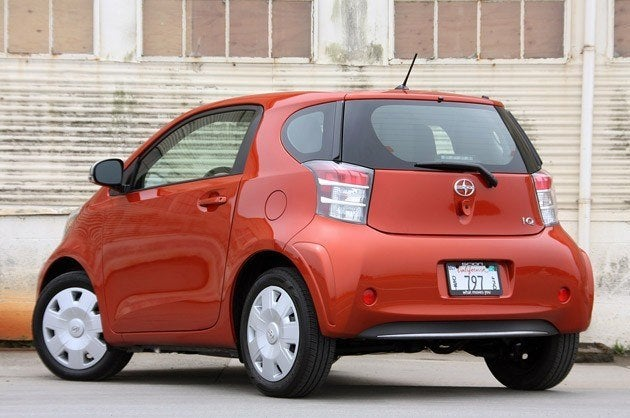 2012 Scion iQ rear
