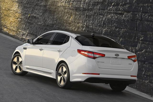 2012 Kia Optima Hydrid rear