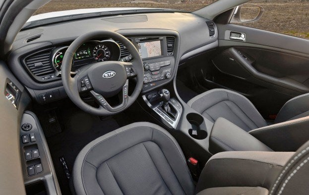 2012 Kia Optima Hydrid interior
