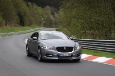2012 Jaguar XJ Supersport ring taxi front three quarter nurburgring 3 623x389
