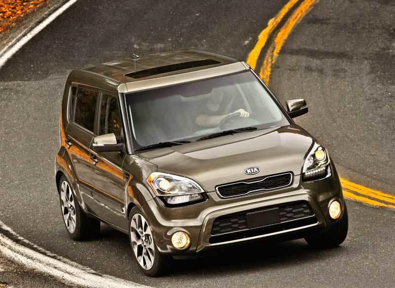 2012 Kia Soul Driving