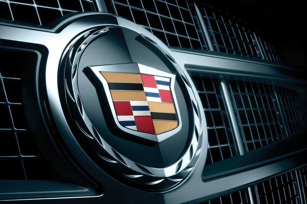 2014 Cadillac ATS V logo