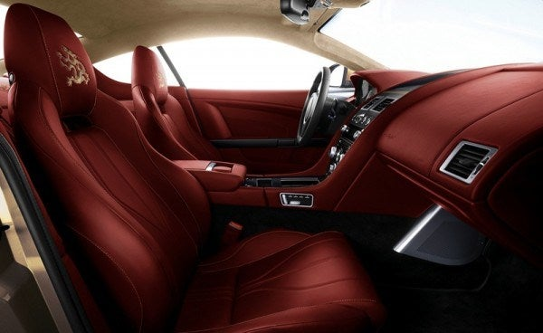 Aston Martin Dragon 88 Virage interior