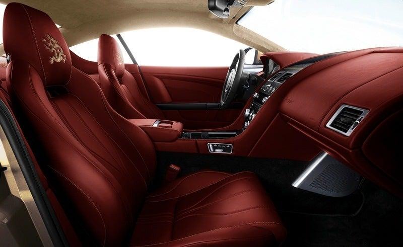 Aston Martin Dragon 88 Virage interior