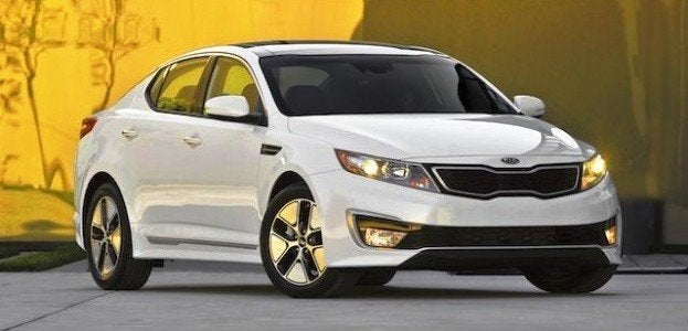 2012 Kia Optima Hydrid