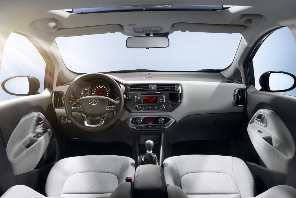 2012 Kia Rio interior photo on Automoblognet