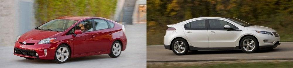 2012 Toyota Prius vs. 2012 Chevy Volt