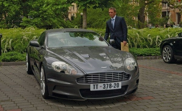 casino royale aston martin