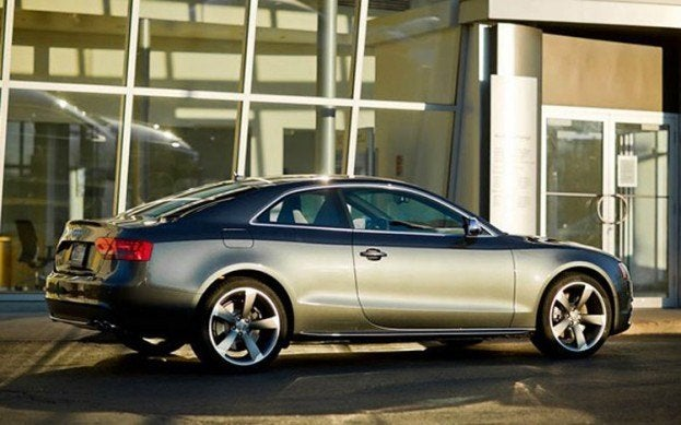 2013 Audi S5 side