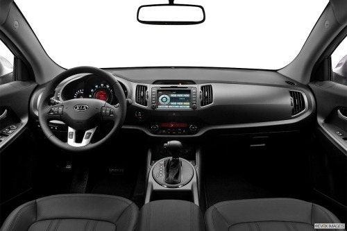 2012 Kia Sportage interior