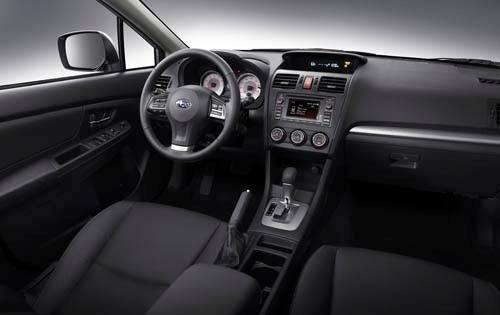 2012 Subaru Impreza interior